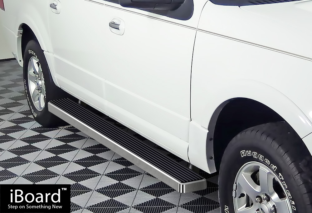 premium 5 iboard running boards fit 03 17 ford expedition. Black Bedroom Furniture Sets. Home Design Ideas