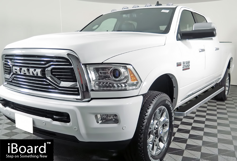 "Dodge Extended Warranty >> Premium 4"" iBoard Running Boards Fit 10-17 Dodge Ram 2500/3500 Mega Cab"