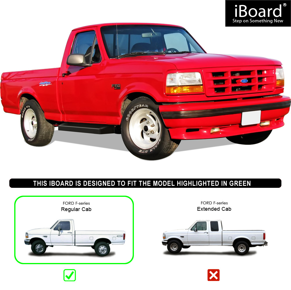 Bronco 80 96 Stock Slip-On Rocker Panel Set Regular Cab Super Cab