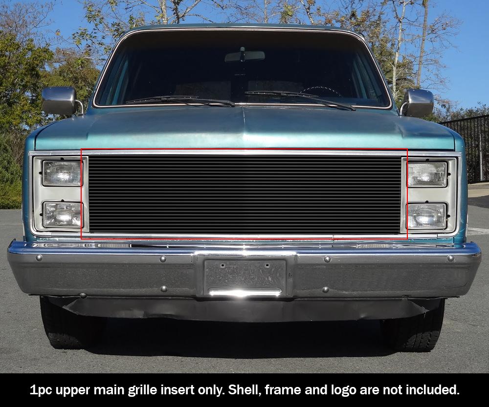 1981-1988  1987 1986 1985 Chevy GMC Pickup Phantom Stainless Steel Billet Grile