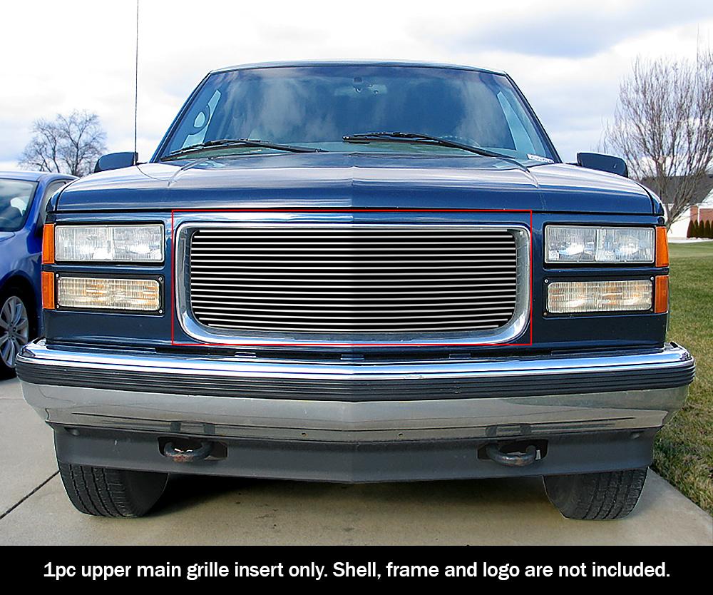 Fits 1994-1999 GMC Sierra//C//K Pickup//Suburban Stainless Steel Billet Grille