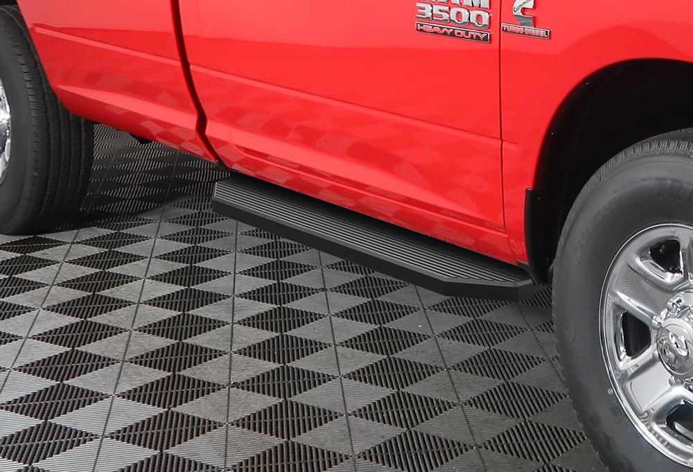 "Satin Black 6/"" iBoard Side Nerf Bar Fit 09-18 Dodge Ram 1500//2500//3500 Crew Cab"
