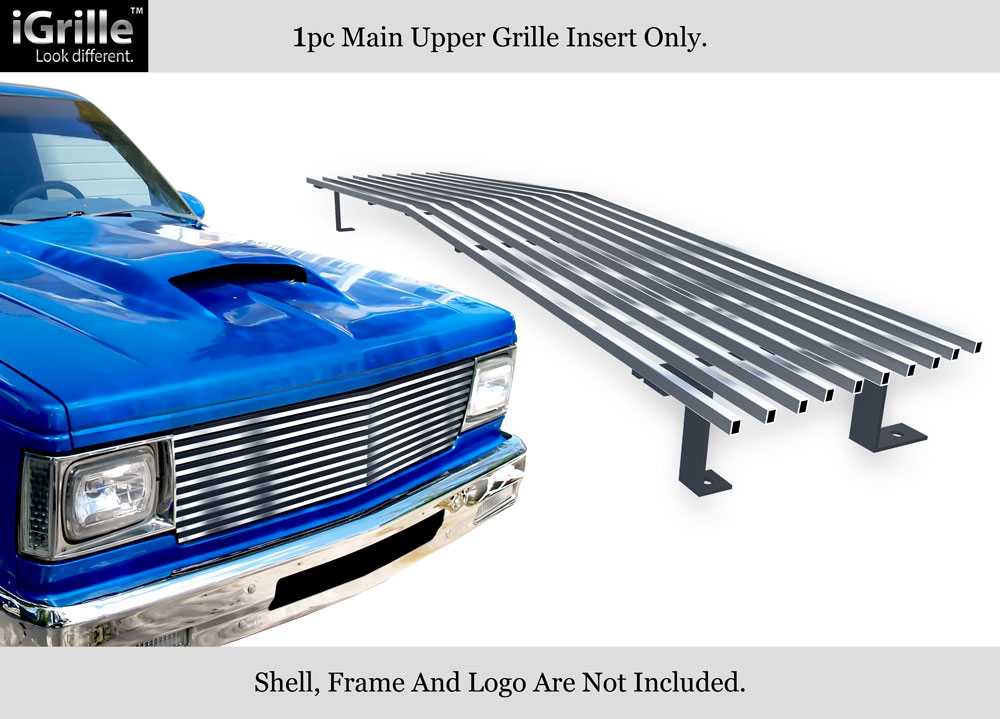 4092c544cbf8e Details about For Billet Grille 304 Stainless Steel 1982-1990 Chevy S-10  Pickup/Blazer/Jimmy