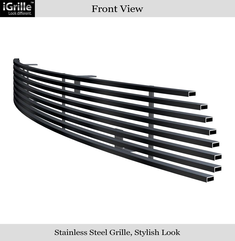 Details About 99 06 Gmc Yukon Denali 02 Sierra Per Black Stainless Billet Grille