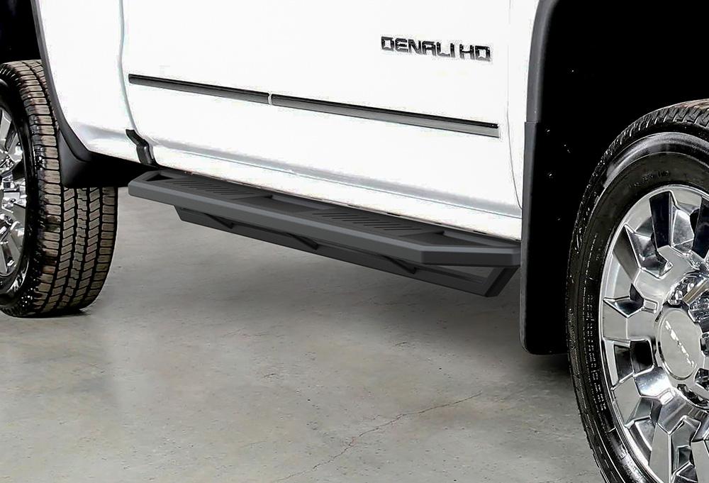 iArmor Aluminum Side Steps Armor Fit 19-20 Chevy Silverado ...