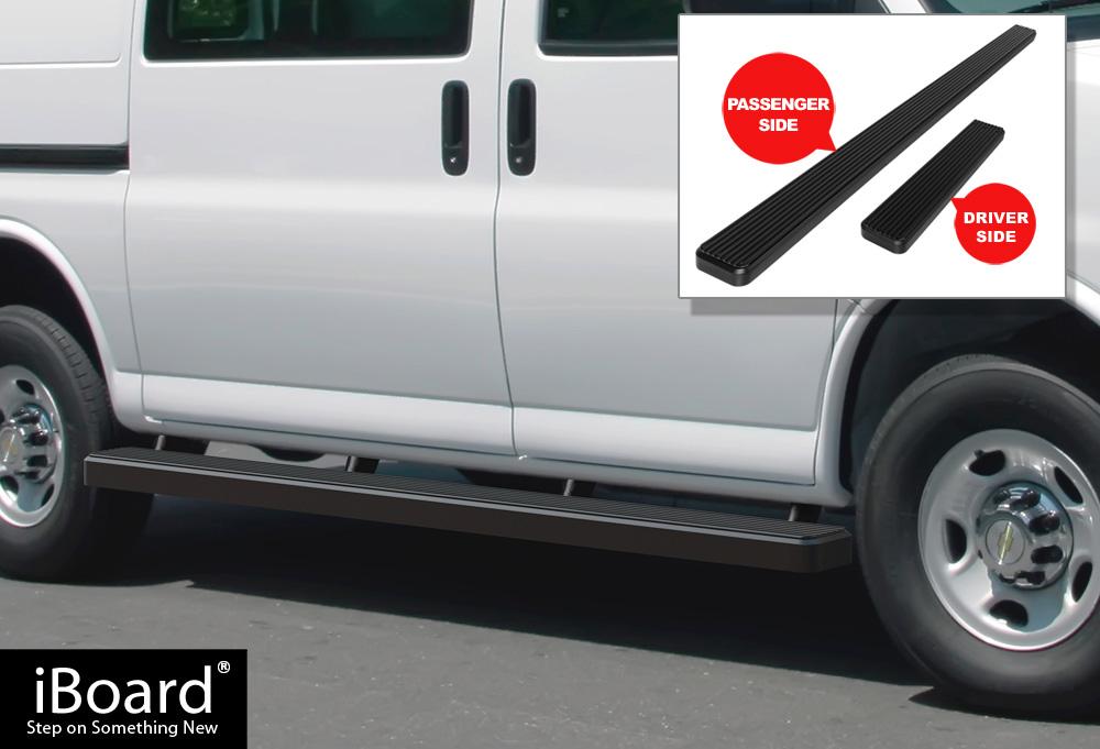 Image Is Loading IBoard Side Steps Nerf Bars 5 034 Black