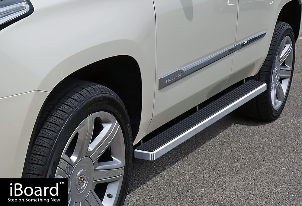 iBoard Running Boards 4 inches Fit 00-20 Chevy Tahoe GMC ...