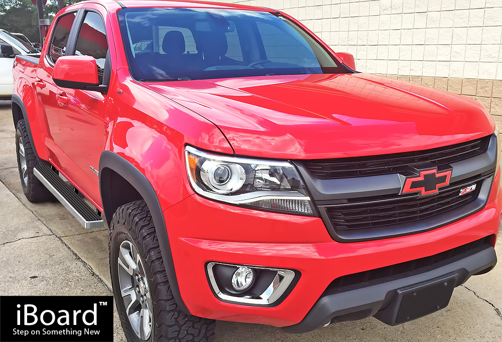 iBoard Running Boards 4 inches Fit 15-20 Chevy Colorado ...
