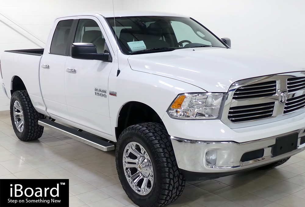 Ram 1500 Running Boards >> 4 Iboard Running Boards Nerf Bars Fit 09 18 Dodge Ram 1500 Quad