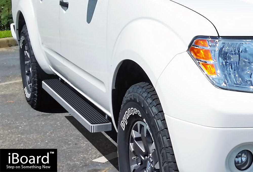 "iBoard Running Boards 4/"" Fit 05-19 Nissan Frontier//Equator Crew Cab"