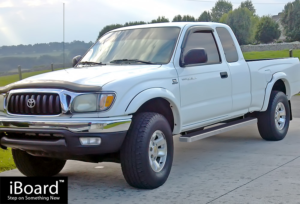 4 iboard running boards nerf bars fit 95 04 toyota tacoma xtra cab ebay. Black Bedroom Furniture Sets. Home Design Ideas