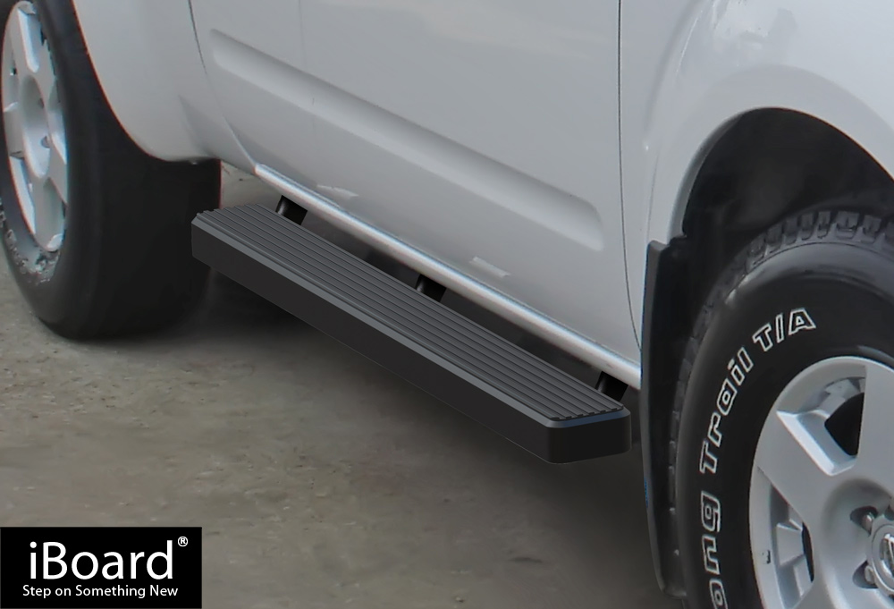 """iBoard Running Boards 4/"""" Fit 05-19 Nissan Frontier//Equator Crew Cab"""